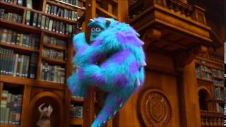 Download Monsters University Library Battle Video