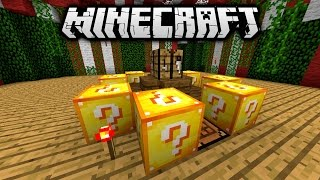 Download Minecraft LUCKY BLOCK HUNGER GAMES #8 'HORSE HIJACK!' with Vikkstar Video