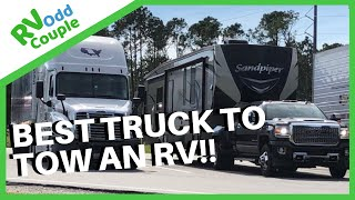 Download Best Truck to Tow a 5th Wheel? Fulltime RVers Compare Ford, Dodge, Chevy & GMC Video