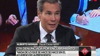 Download Nisman acusó al Gobierno de hacer una alianza con los terroristas Video