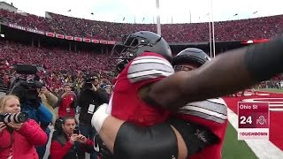 Download My Reaction To No. 2 Ohio State Beats No. 3 Michigan In 2 OT 30-27 With A Walk Off Touchdown! Video