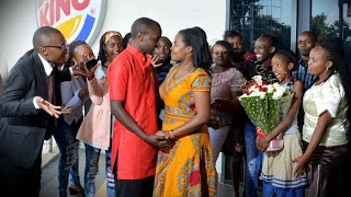 Download SEE HER REACTION. Proposal @Two Rivers Mall, KENYA BEST SURPRISE EVER @BurgerKing. VisualDo Flashmob Video
