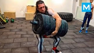 Download CRAZY RUSSIAN Workout Monster - Alexander Khokhlov | Muscle Madness Video