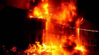 Download Row Home Fire, South Lehigh Street, Video 1 of 2, Tamaqua PA, 7-5-2011, TamaquaArea Video