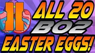 Download *NEW* ALL 20 BO2 Easter Eggs, Secrets, & References! - Multiplayer & Campaign (CoD Black Ops 2) Video