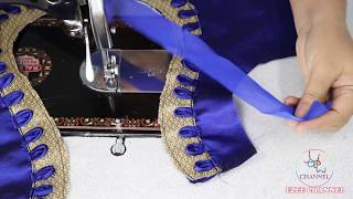Download Patch Work design For Saree Blouse Cutting and Stitching 2018 Video