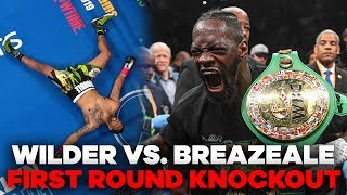 Download Deontay Wilder MASSIVE Knockout Punch | Wilder vs. Breazeale Highlights Video