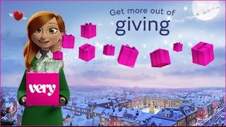 Download Very.co.uk Christmas Advert 2016 - Get More Out of Giving Video