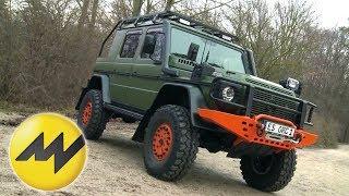 Download Mercedes G-Klasse - Offroad Sonderanfertigung ″Bull″ Jagd-Fahrzeug Video