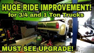 Download Make your 1-ton truck ride like a 1/2 Ton! Sulastic Springs! Video