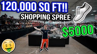 Download Shopping Spree in the World's Biggest Sneaker Store! (120,000 SQ FT!) Video