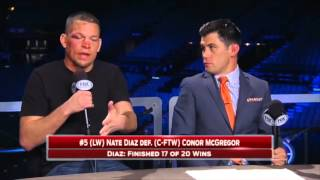 Download Nate Diaz on UFC 196 win ″Oh you're a wrestler now?″ - FULL VIDEO Video