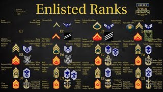 Download US Military (All Branches) Enlisted Ranks Explained – What is a Chief? Sergeant? Private? Video