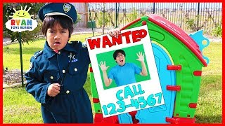 Download Ryan Pretend Play Police Helps find Daddy!! Video