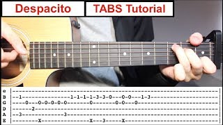 Download Despacito | Fingerstyle TABS Guitar Lesson (Tutorial) How to play Fingerstyle Video