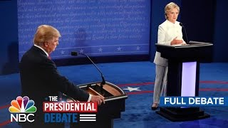 Download The Third Presidential Debate: Hillary Clinton And Donald Trump (Full Debate) | NBC News Video