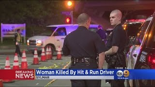 Download Woman Killed In Sylmar Hit-And-Run Video