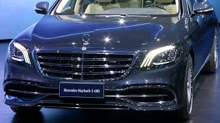 Download Mercedes-Maybach S 680 presentation in Auto Shanghai 2017 Video