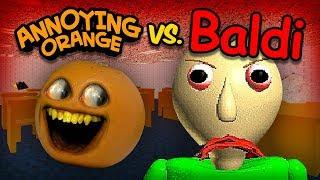 Download Annoying Orange vs Baldi (AO takes Baldi's Basics Math Class!) Video