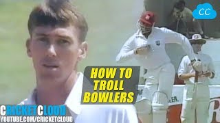 Download Funniest Bravest Batting Ever | Courtney Walsh Trolling Aussies with Funny Gestures !! Video