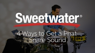 Download 4 Ways to Get a Phat Snare Sound Video