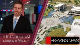 Download First American-style campus in Mexico   New leader in the space race   Mexico & USA best partners Video