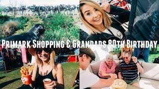 Download PRIMARK SHOPPING AND GRANDADS 80TH BIRTHDAY Video