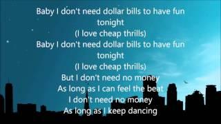 Download Sia - Cheap Thrills ( Lyrics ) Video