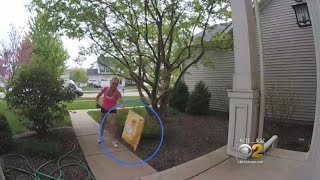 Download Customers Upset After Amazon Driver Throws Their Packages Video