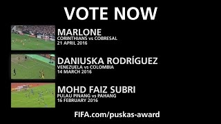 Download EXCLUSIVE - THE FINAL 3 - The FIFA Puskas Award Video
