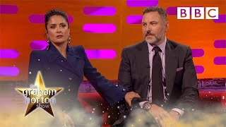 Download Salma Hayek's prince anecdote puts David Walliams to shame | The Graham Norton Show - BBC Video