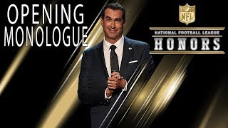 Download Rob Riggle Roasts the NFL's Elite in Opening Monologue | 2018 NFL Honors Video