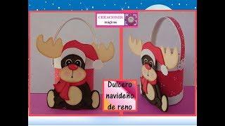 Download ♥♥Dulcero de reno♥Tutorial navideño 1♥Creaciones mágicas♥ Video