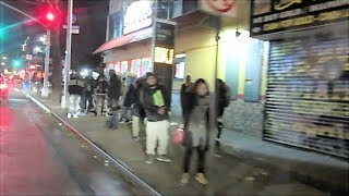 Download BROOKLYN NEW YORK STREETS AT NIGHT Video