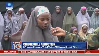 Download News@10: Parents Identify Daughter In New Boko Haram Video 14/08/16 Pt. 1 Video
