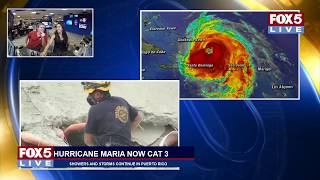 Download FOX 5 LIVE (9/21): Category 3 Maria passes over P.R.; Trudeau makes remarks at UN General Assembly Video