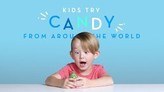 Download Kids Try: Candies From Around The World | Kids Try | Cut Video
