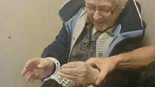 Download Cops Arrest 99-Year-Old Woman To Cross It Off Her Bucket List Video
