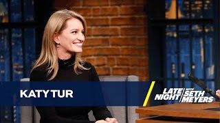 Download Katy Tur Describes What It Was Like Covering Donald Trump's Campaign Video