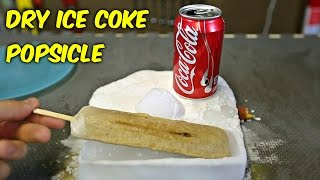Download DIY Dry Ice Coca Cola Popsicle Video