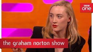 Download Saoirse Ronan tattooed Ed Sheeran - The Graham Norton Show - BBC One Video