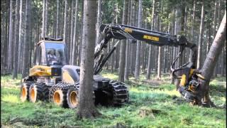 Download Ponsse Ergo 8w Harvester im Starkholz Video