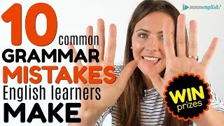 Download 10 MOST COMMON Grammar Mistakes English Learners Make 😭😭😭 Video