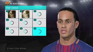 Download PES 2018 FACES RONALDINHO BARCA + STATS Video