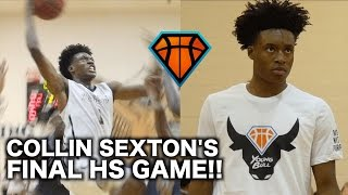 Download Collin Sexton's Last Game of His High School Career | YoungBull's Full Highlights Video