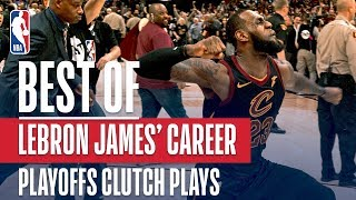 Download Top Clutch Moments From LeBron James' Playoff Career Video