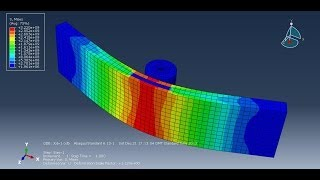 Download Abaqus Contact Model Tutorial - Three Point Bend Video