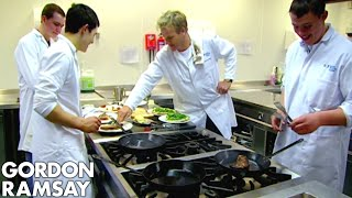 Download Chef Ramsay Teaches Amateur Butchers How to Cook A Perfect Steak - Gordon Ramsay Video
