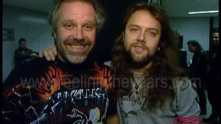 Download Metallica- Backstage Tour & ″Enter Sandman″ on Countdown 1992 Video