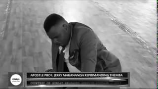 Download APOSTLE JB MAKANANISA REPRIMANDING THEMBA Video